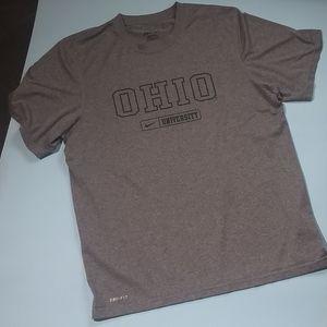 Nike Dri-FIT Ohio University tee shirt